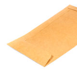 Old envelope on white Royalty Free Stock Photo