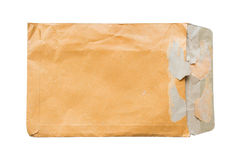 The old  envelope Royalty Free Stock Photos