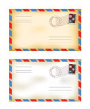 Old envelopes Royalty Free Stock Photography