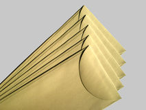 Old Envelopes Stock Photography