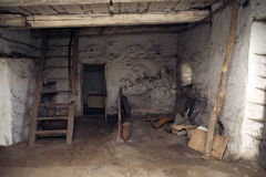 Old equerry. Rough interior of an old equerry in Hungary Stock Photography