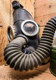 Old equipment of civil defense (USSR) Stock Photo