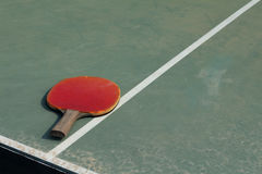 Old Equipment for table tennis Royalty Free Stock Photography