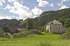 Old estate in Sonnenburg Stock Images