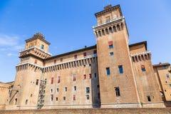 Old Estense Castle in Ferrara, Italy Stock Photo