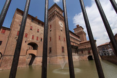 Old Estense Castle in Ferrara Royalty Free Stock Photo
