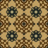 Old ethnic background pattern. Ceramic tiles royalty free illustration