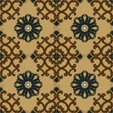 Old ethnic background pattern. Ceramic tiles Royalty Free Illustration