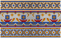 Old ethnic ornament. Stock Photography
