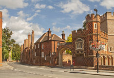 Old Eton. Street in Eton, which is situated near Windsor in England Stock Images
