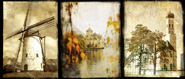 Old Europe stock photo