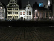 Old Europe architecture (Gent Belgium) royalty free stock photography