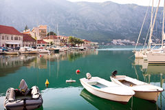 Old Europe city Kotor Stock Images
