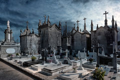 Old european cemetery Stock Photography