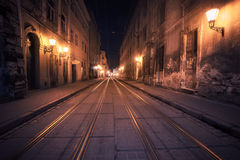 Old European city Royalty Free Stock Images