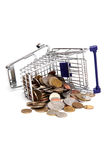 Old european coins Stock Image