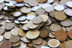 Old european coins Stock Photo