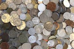 Old european coins Stock Photos