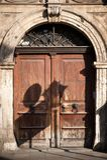Old European Doors Royalty Free Stock Photo