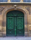 Old European Doors Royalty Free Stock Photos