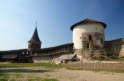 Old European fortress Royalty Free Stock Image