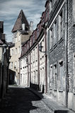 Old european street Royalty Free Stock Photography