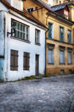 Old european street Royalty Free Stock Images