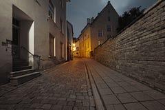 Old European street Royalty Free Stock Image