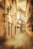 Old european street Stock Photo