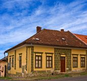Old european town levoche Royalty Free Stock Photos