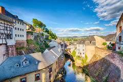 Old European Town of Saarburg, Germany Royalty Free Stock Photo