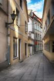 Old european town street Stock Photo