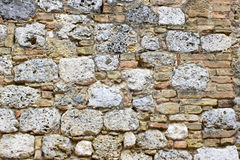 Old european wall from the Tuscany Royalty Free Stock Images