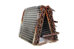 Old Evaporator Coil (4) Royalty Free Stock Photo