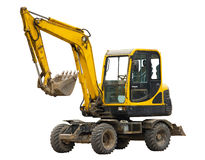 Old excavator Royalty Free Stock Photo