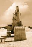 Old excavator Stock Image