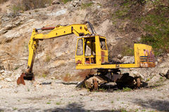 Old excavator Royalty Free Stock Image