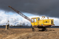 The old excavator Royalty Free Stock Image