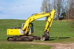 The old excavator Stock Photo