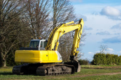 The old excavator Stock Image