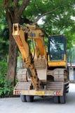 Old excavator Stock Photo