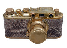 Old exclusive german rangefinder came Stock Photography