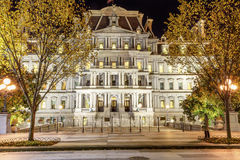 Old Executive Office Building Night Washington DC Stock Photo