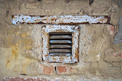 Old exhaust fan Royalty Free Stock Images