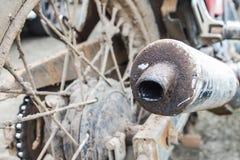 Old exhaust Stock Photo