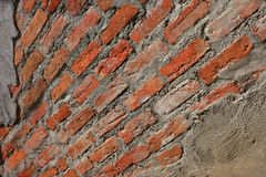 Old Exterior Brick Wall. Stock Image