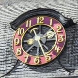 Old exterior clock Stock Photos