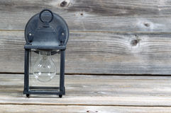 Old Exterior Light Stock Image