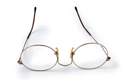 Old eyeglasses Royalty Free Stock Images