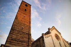 Cathedral of Pietrasanta Stock Image